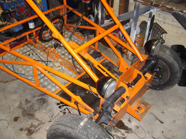 Danny road legal bugy rebuild