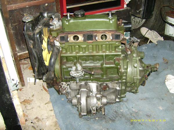 Dans New 1380cc Mini Engine