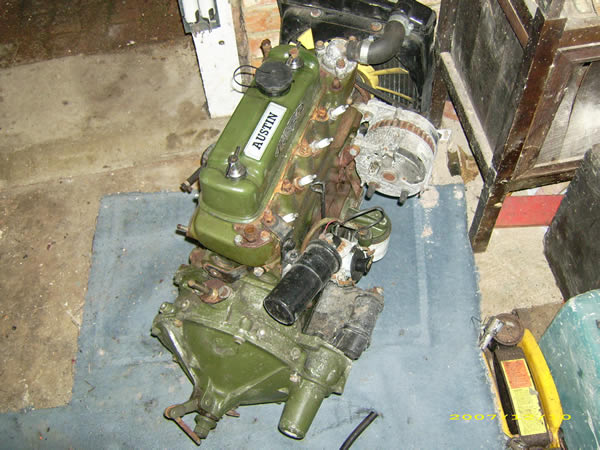 Danny Freestyle Kit Car Mini Engine