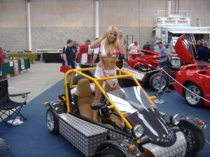 Miss Newark 2006 In A Freestyle Road Buggy