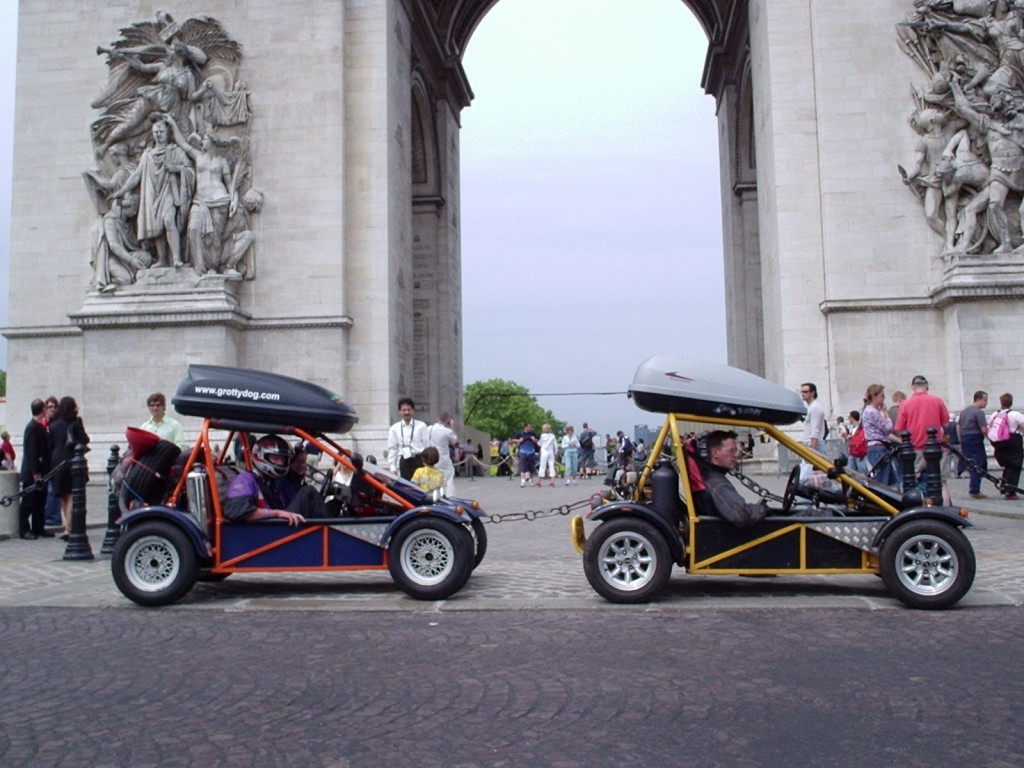 Freestyle Road Legal Buggies In Paris 2005