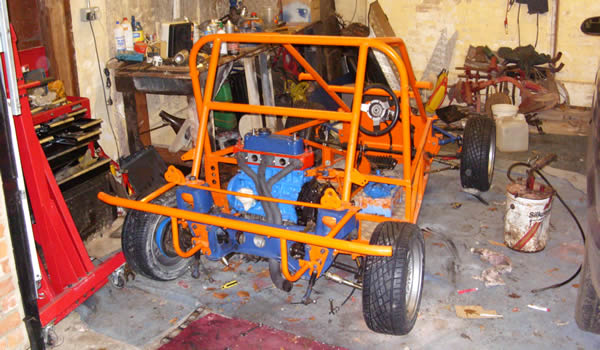 Buggy with new bumper