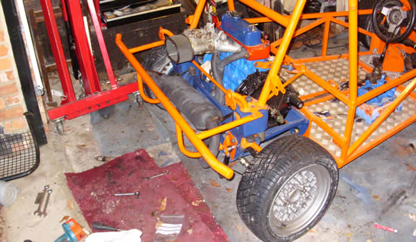 Rear Of Freestyle Buggy