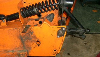 Removing the front suspension from a Freestyle Road Buggy
