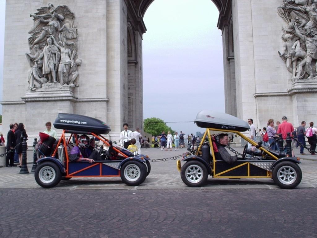 Freestyle Road Legal Buggies In Paris 2005