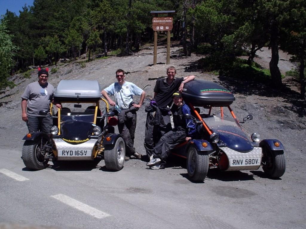 Road Buggies Playing In Spain