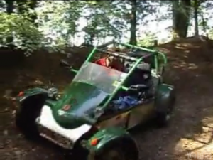 green laning and playing about in road buggies