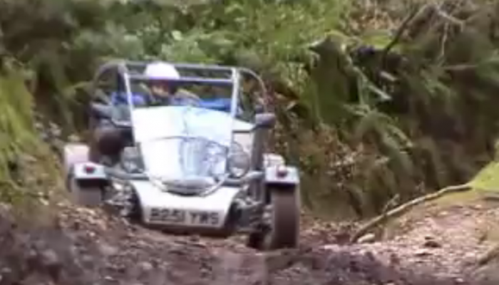 Messing about In Freestyle Road Legal Buggy
