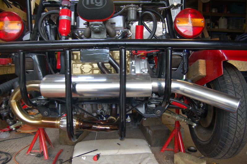 Stainless Road Buggy Exhaust